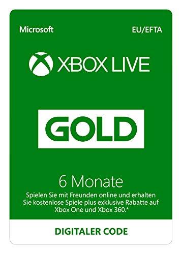 Xbox Live Gold Mitgliedschaft | 6 Monate | Xbox Live Download Code - Xbox Für 360 Die Billig-spiele