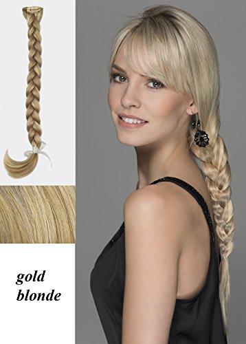 Power Pieces Haarteil: TRICKY von Ellen Wille. Zopf Ellen Wille Tricky Farbe: gold blonde