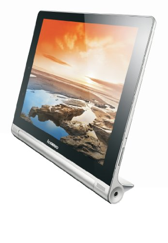 Cheapest Lenovo Multimode Yoga Tablet 10.1-inch HD+ (Quad Core 1.6GHz, 2GB, 16GB EMMC, 3G, GPS, BT 4.0, x2 Cameras, Full HD, Android 4.3) – Silver Discount