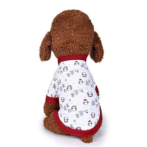 Weihnachten Hundebekleidung Hawkimin Polyester T Shirt Puppy Kostüm Hündchen Hund Kleidung Weiches Pullover Hundemantel Haustier Gemütlichkeit Atmungsaktives Sweatshirts Coat - Bilder Von Kostüm Für Haustiere