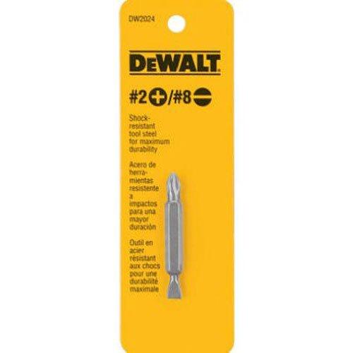 DeWALT Dw2024 # 2 Philips et # 8 à fente à double extrémité Embouts de tournevis