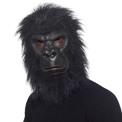 Gorilla Costumes Masque - Gorilla Masque & cheveux Overhead Fancy Dress