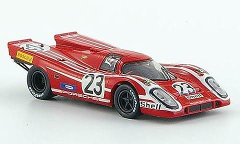Porsche 917 K, LeMans, Sieger, 1970, Modellauto, Fertigmodell, Brekina 1:87