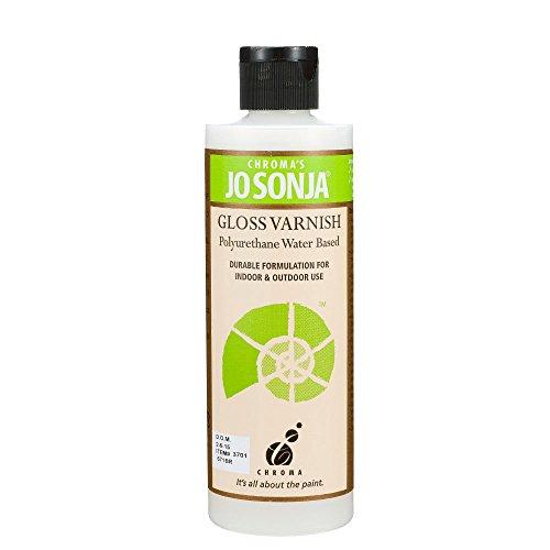 Jo Sonja's Polyurethane Varnish Gloss 8 oz Bottle (japan import)