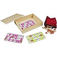 Engelhart - Set de jeu de loto complet en bois - 360570