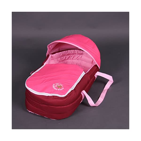 Exclusive Tandem - Twin Pram rose - BambinoWorld Bambino World You are purchasing a high quality and first class Tandem/ Twin Pram from Bambino World, with additional equipment and safety features, ideal for great day trips and every day use. Ideal pram for parents of twins or children with small difference in age. While your larger child explores the environment, your baby sleeps at fresh air. It is suitable from birth (rear seat) and 6 months (front seat) to about 3 years (15 kg). MAIN FEATURES: Easy folding (112 x 56 x 40 cm) ;Size open 110 x 54 x 120 cm ; weight 16,5 kg ;Height handle 107 cm, backrest 40 cm, seat depth 23 cm; wheel diameter 20 cm . EXCLUSIVE ADVANTAGES:Very compact and light frame ;All wheels with springing for a comfortable journey ;Front reflectors for your safety ;Lockable swivel front wheels ;Separate brakes on rear wheels ;Several position lie back adjustable seat :Back seat: sitting and lying position ,Front seat: sitting and resting position ;Seat guarantees good ventilation and comfortable seating ;5-point safety harness ; Age: Front seat: 6-36 months | Rear seat: 0-36 months 7