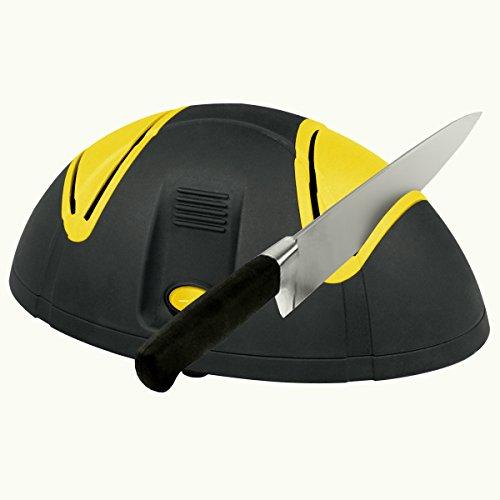 Proteco-Werkzeug® Elektrischer Messerschärfer Schärfgerät für Messer Messerschärgerät Messerschleifer