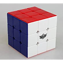 Topways® Cyclone Boys 3x3x3 mágico cubo 57 mm xuanfeng Speed cube Inteligencia magic cube Juego de Puzzle cube Stickless (Cyclone 3x3x3 xuanfeng)