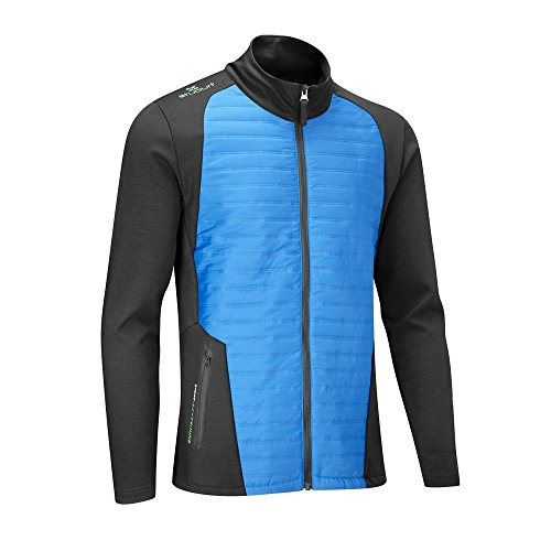 Stuburt 2017 Mens Endurance Sport Padded Jacket – Black/Imperial Blue – XL