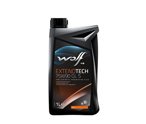 Bidon 1 litre d'huile 75W90 Wolf POLYGEAR75W901 – 8303302 pas cher