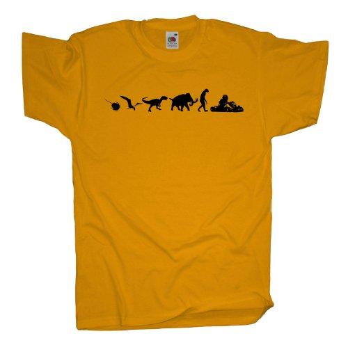 Ma2ca - 500 Mio Years - Gokart T-Shirt Sunflower