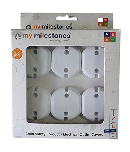 My Milestones- Home safety - Electrical outlet covers - 6 pcs