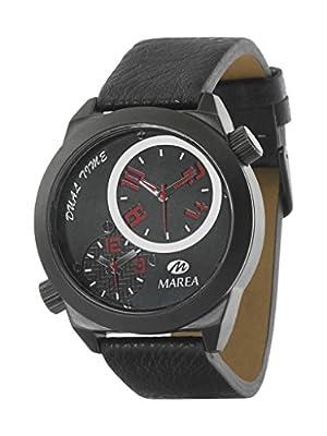 Reloj Marea Ref. B54002/3 Caballero Cuarzo, doble Horario, Correa Piel