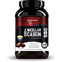 Nutrition Planet 100% Micellar Casein With Added DigeZyme®, 2lbs, 30 Servings