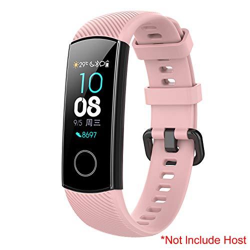 SenMore Bracelet pour Honor Band 4, Universel Sport en lanières Bracelets pour Huawei Honor Band 4 (pour Huawei Honor Band 4, Pink)