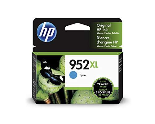 HP 952x L CYAN Original Ink Cartridge 1600Seiten cyan Tintenpatrone-Druckerpatronen (HP, cyan, Officejet Pro 8210, oben, 1600Seiten, Leuchtmittel) - 1600 Inkjet