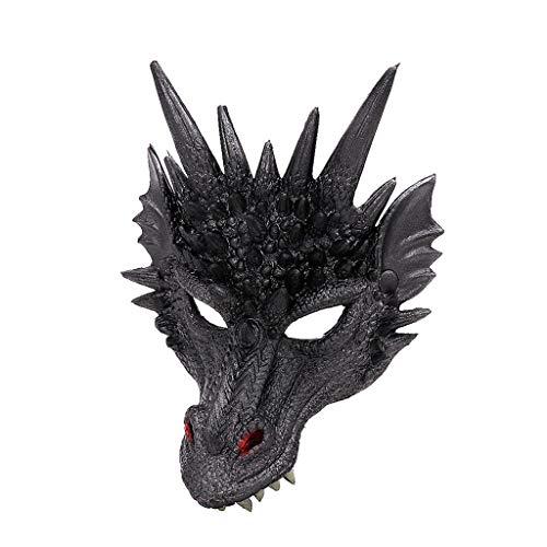 Günstige Mardi Gras Maske - Jkhhi Unisex Bösewicht Kostüm Partyball Halloween