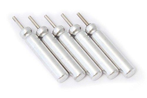 vhbw 5X Set Lithium Stabbatterie 25mAh (3V) für Angelposen, Posen, YAD, LED wie Typ CR425.