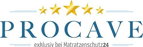 PROCAVE | TopCool Seitenschläferkissen 40×145 cm | Atmungsaktives Schwangerschaftskissen | Weiches Stillkissen mit verstepptem Bezug | Made in Germany - 6