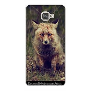 TPU Transparent SilikonHülle für Samsung Galaxy A9 (SM-A9000) - Tier Fuchs Wildtiere by WonderfulDreamPicture