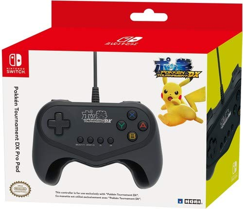 HORI Nintendo Switch Pokken Tournament DX Pro Pad Wired Controller