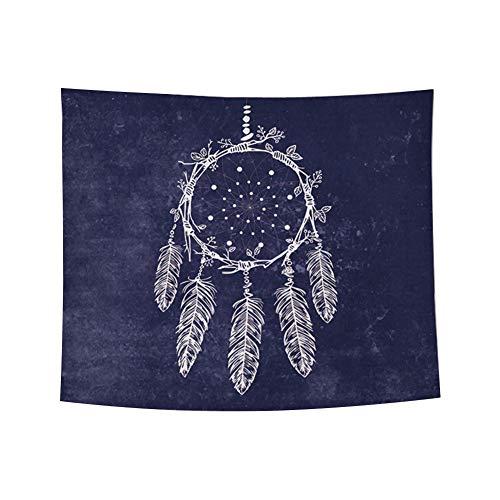 LAAT Mandala Tapestry, Tapices decorativos mandala, Atrapasueños tapiz de pared con decoración para el hogar, sala de estar,150cm*130cm