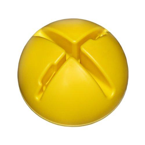 Agility Hundesport - X-Standfuß für Stangen und Reifen, Farbe: gelb