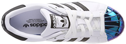adidas Damen Superstar MT W Basketballschuhe Elfenbein (Ftwr White/core Black/supplier Colour)