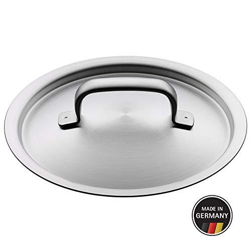 WMF Gourmet Plus Metalldeckel 16 cm, Topfdeckel, Cromargan Edelstahl, spülmaschinengeeignet