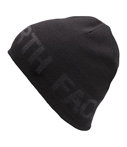 The North Face Reversible Tnf Banner Beanie - Gorro unisex, color negro, talla OS