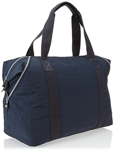 Kipling - ART M - Borsa da viaggio media - Black - (Nero) Blu (Bleu (True Blue)