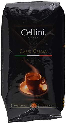 Cellini Caffè Crema Dolce Ganze Bohne, 1000 g, 1er Pack (1 x 1 kg)