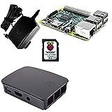 Raspberry–Mini - Mini-Computer, schwarz und grau Schwarz/Grau