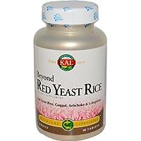 Kal - Oltre i Lifestyles clinici del riso rosso del lievito - 60 Ridurre in (Kal Riso)