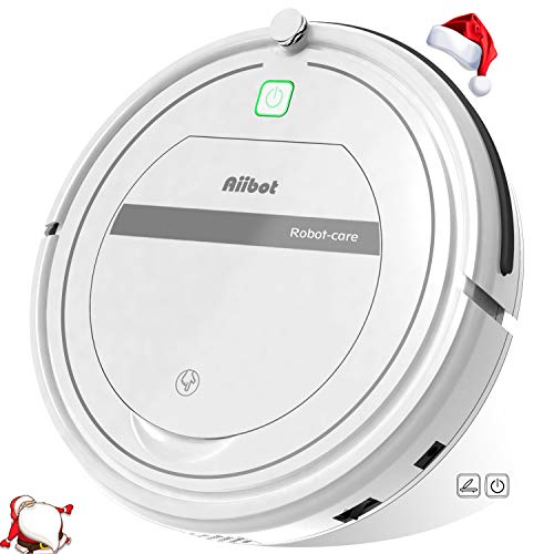 Aiibot Aspirateur Robot Intelligent à Aspiration Puissante,...