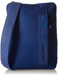 Piquadro Bandolera de hombre iPad Mini Azul