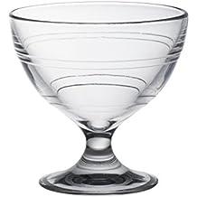 Duralex 5002AB06Gigogne–Lote de 6cuencos de postre (cristal transparente, 10cm