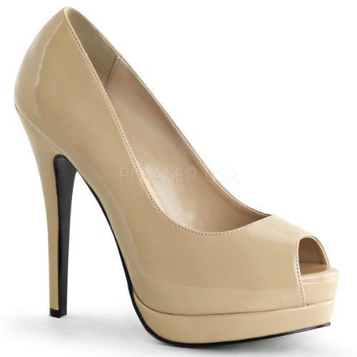 Bordello, Zapatos De Tacón Crema / Crema Para Mujer