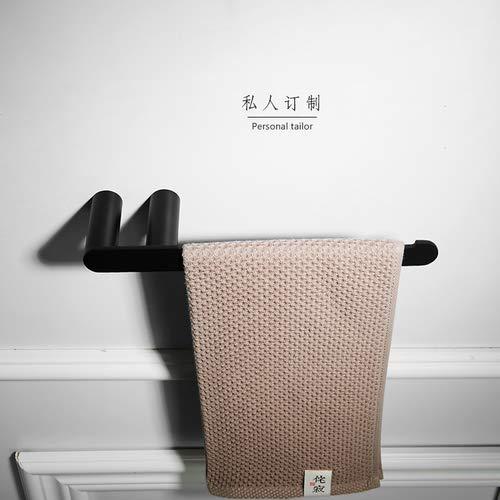 Joeesun Runder Handtuchhalter aus Edelstahl 304, Handtuchaufhänger, Badetuchhalter Nordic, Badprodukte, Anodisieren, A2 -