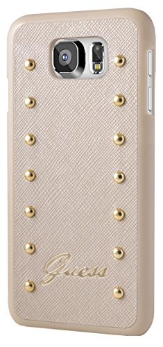 GUESS - Coque collection Studded - Samsung Galaxy S6 - Crème