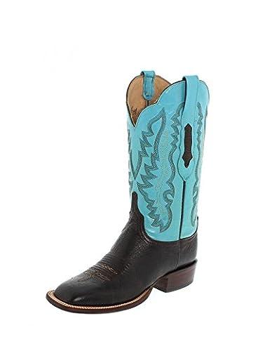 Lucchese Susana Femme Bottes Western Bottes d'équitation - Multicolore -