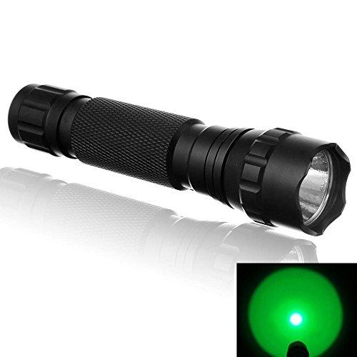 Preisvergleich Produktbild YBK Tech Handheld Taschenlampe CREE 501B T6LED Mini Taschenlampe 1000lumen- grün Licht