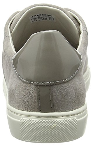 Geox Damen D Trysure E Sneakers Grau (LT GREYC1010)