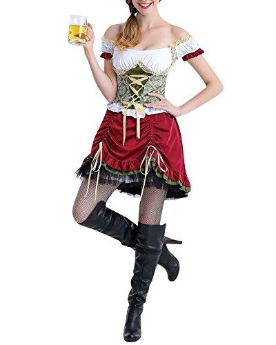 Vestito di halloween costume donna di carnevale abiti cosplay regalo per festa compleanno 9 l