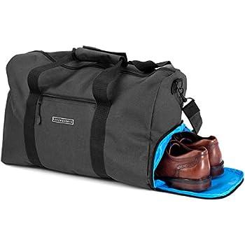 4c7a62b3c Elegante Bolsa deporte Bolsa de viaje con compartimiento para zapatos y  portabotellas | Bolsa de mano de 38 litros 55x40x32 | Bolsas de gimnasio  para hombre ...