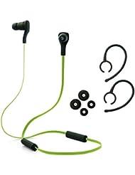 XCSOURCE® Negro Bluetooth 3.0 + Auriculares Headphones Earphones Inalámbrico Estéreo Micrófono EDR Sports Gym in-ear MIC Control Remoto para Mobile Phone iPhone 5 5S 4 4S 6 6plus Nokia Samsung Sony Xperia Z1 Z2 IP133