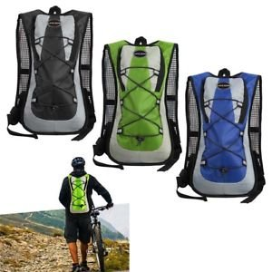 ELECTROPRIME New Bicycle Cycling Rucksack Hydration Pack 5L Bladder Backpack Bag - Blue