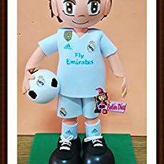 Muñeco fofucha Real Madrid C.F. 26 cms. fútbol equipación 2017-2018 liga