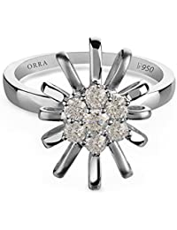 ORRA Pt 950 Platinum Diamond Ring