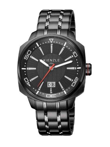 Kienzle - K8011533062-00121 - Montre Homme - Quartz Analogique - Bracelet Acier Inoxydable Noir